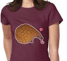 Pangolin Love Womens Fitted T-Shirt