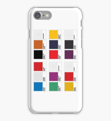 The Colorists iPhone Case/Skin