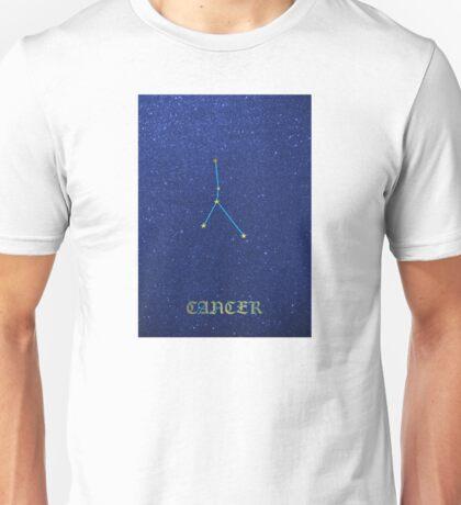 Constellations - CANCER Unisex T-Shirt