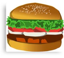 Extreme Burger Canvas Print