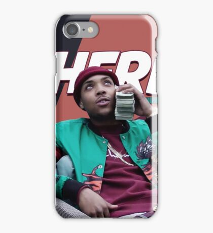 "G Herbo ""Money Calling"" iPhone Case/Skin"