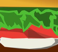 Extreme Burger Sticker