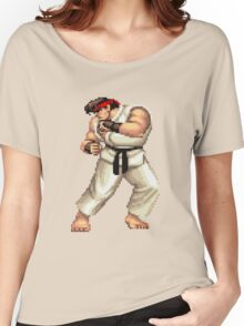 Ryu Street Fighter Women's Relaxed Fit T-Shirt