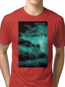 DOPPELBELICHTUNGEN Tri-blend T-Shirt