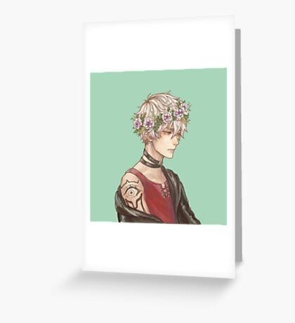 [Unknown] || Mystic Messenger Greeting Card