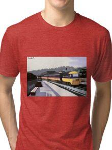 Love is tragedy... Tri-blend T-Shirt