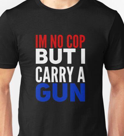 Mens Womens Unisex Im No Cop Trendy & Stylish Casual T shirts Unisex T-Shirt