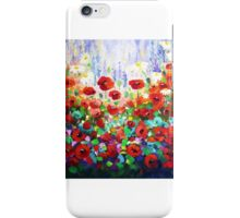 """Summer Meadow""  iPhone Case/Skin"
