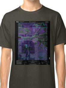 USGS TOPO Map California CA Truckee 102062 2000 24000 geo Inverted Classic T-Shirt