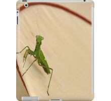 Mantis in action iPad Case/Skin