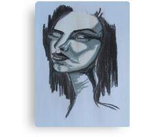 Metropolis film inspired girl Canvas Print