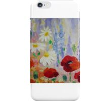 """Summer Meadow IV ""  iPhone Case/Skin"