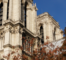 Notre-Dame de Paris – French Gothic Elegance in the Heart of Paris Sticker