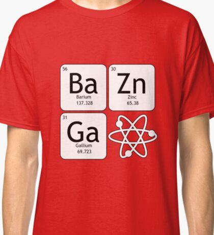 BaZinGa and Atom Classic T-Shirt