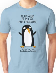 Brenda the Civil Disobedience Penguin Unisex T-Shirt