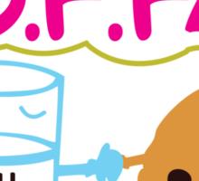 Milk and Choco chip  BFF Sticker