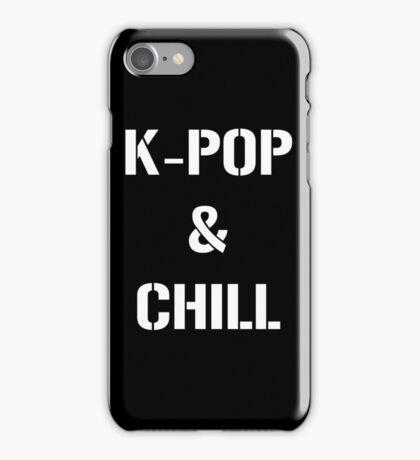 kpop n chill iPhone Case/Skin