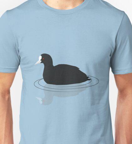 Common coot vector Unisex T-Shirt
