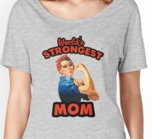 World's Strongest Mom Women's Relaxed Fit T-Shirt