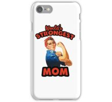 World's Strongest Mom iPhone Case/Skin
