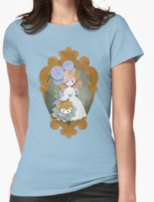 Marie Antoinette and Skiddo Womens Fitted T-Shirt
