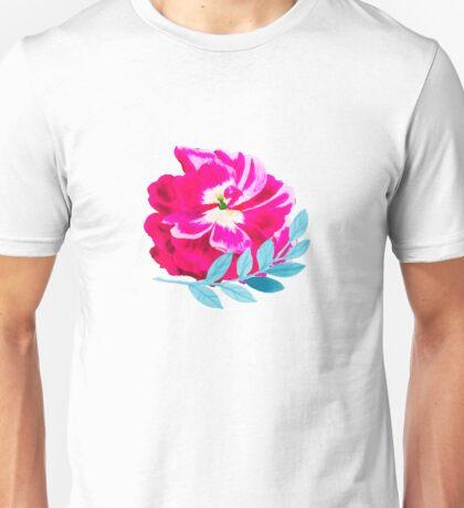 Fluorescent Florals #redbubble #lifestyle T-Shirt