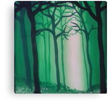 Tranquil Painted Forest Canvas Print