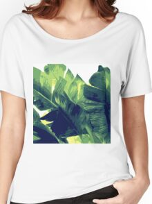 Banana Leaf Women's Relaxed Fit T-Shirt