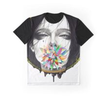 Black Blossom Graphic T-Shirt