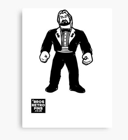 Hasbro Series 1 Million Dollar Man Canvas Print