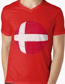 Denmark Mens V-Neck T-Shirt