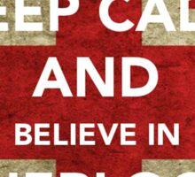 Believe in Sherlock Sticker