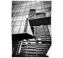 Buildings on Buildings Poster