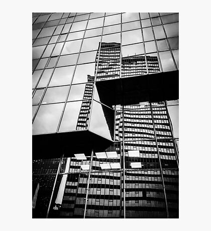 Buildings on Buildings Photographic Print
