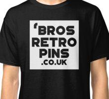 'bros Retro Pins Logo Classic T-Shirt
