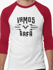 "Rafael Nadal ""Pasion&Respeto"" Men's Baseball ¾ T-Shirt"