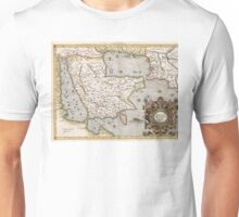 Middle East - Mercator - 1584 Unisex T-Shirt