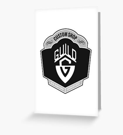 Guild. Greeting Card