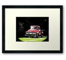 Trucks 7275 Framed Print