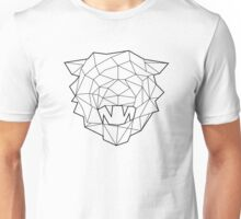 Wire Faceted Tiger Unisex T-Shirt