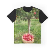 Full basket near apple tree Graphic T-Shirt