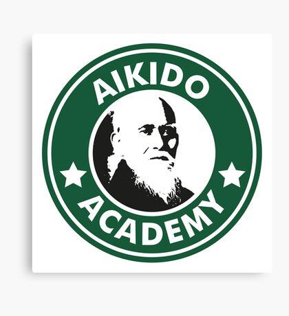 Aikido Starbucks Canvas Print
