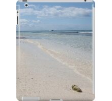 Seashell on Caribbean Beach iPad Case/Skin