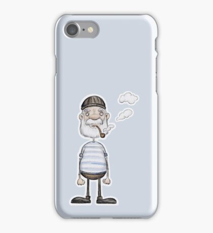 Ahoi Seemann - Aquarell |Katz & Tinte iPhone Case/Skin