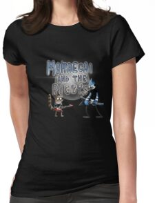 toon mordecai and the rigbys Womens Fitted T-Shirt