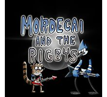 toon mordecai and the rigbys Photographic Print