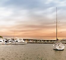Boating at Forster 01 by kevin chippindall