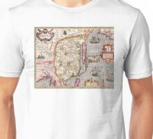 Map of China - Mercator - 1606 Unisex T-Shirt