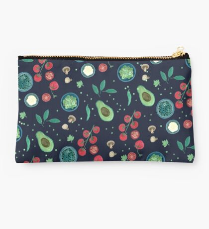 Italian Food Illustration in Gouache Studio Pouch