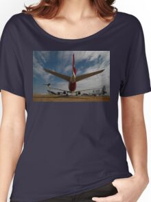 Boeing 777, Avalon Airshow, Victoria, Australia 2009 Women's Relaxed Fit T-Shirt